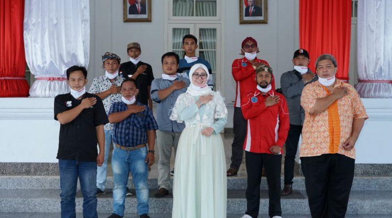 Ketua DPD FOKAN Jatim Zaenab Zuraidah Menerima Kunjungan Aktivis Anti Narkoba