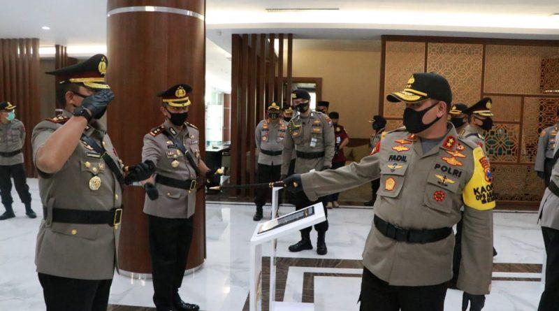 Kapolda Jatim Pimpin Sertijab di Tubuh POLRI Jatim