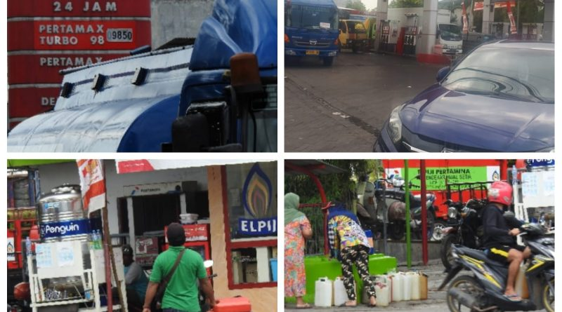 SPBU.54-691.03, Jl. Raya Tonjung Junuk Bangkalan Madura, Nakal Tidak Patuh Aturan Pertamina