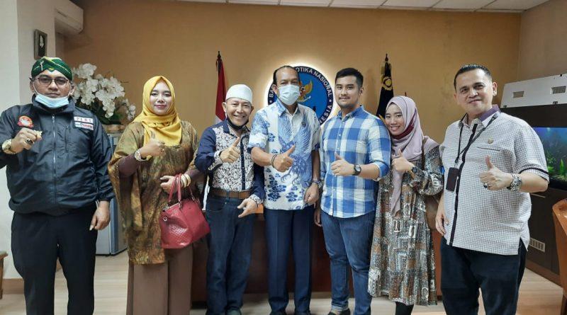 DPD Puskominfo JATIM Kunjungi Tiga Jendral BNN