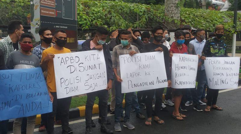 LSM Gertak Minta Polres Malang Tahan Cawabub Didik