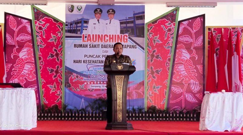 BUPATI Sampang Bersama FORKOPIMDA Gelar Launching PERESMIAN Gedung Baru RSD Katapang