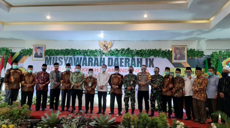 Bupati Magetan Buka Musyawarah Daerah ke IX Lembaga Dakwah Islam Indonesia