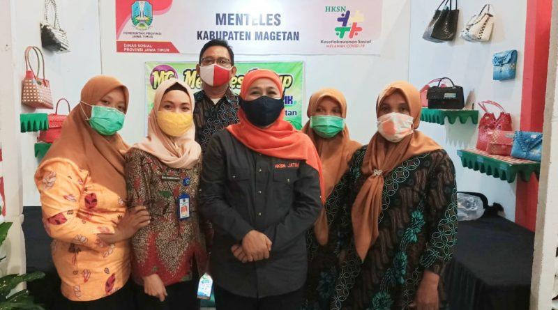 KUBE Binaan Dinas Sosial Kabupaten Magetan Tembus Pasar Nasional