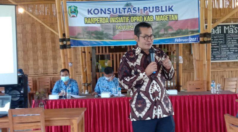 DPRD Magetan Konsultasi Publik Usulan Raperda Inisiatif Tentang Desa Wisata