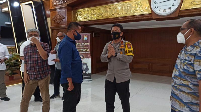 Kapolda Jatim Gandeng PWI Perangi Berita Hoax di Wilayah Jatim
