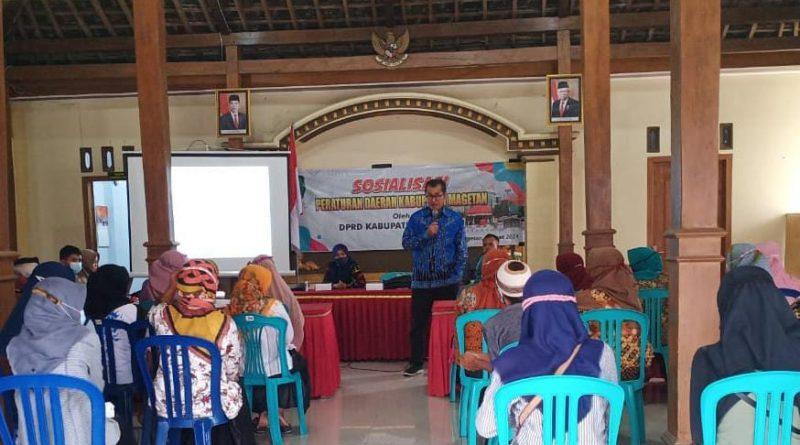 Wakil Ketua DPRD Magetan, Ajak Masyarakat Ubah Mindset Soal Pengelolaan Sampah