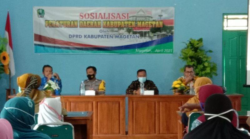Wakil Ketua DPRD Magetan, Bank Sampah Membawa Berkah