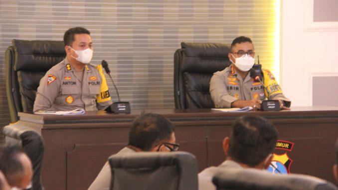 Jelang Operasi Ketupat Semeru 2021 Polrestabes Surabaya Gelar Lat Ops Terpusat Semeru