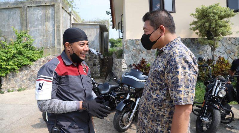 Rombongan Moge Kunjungi Wabub Malang TernyataPengendaranya Pengasuh Ponpes Genggon