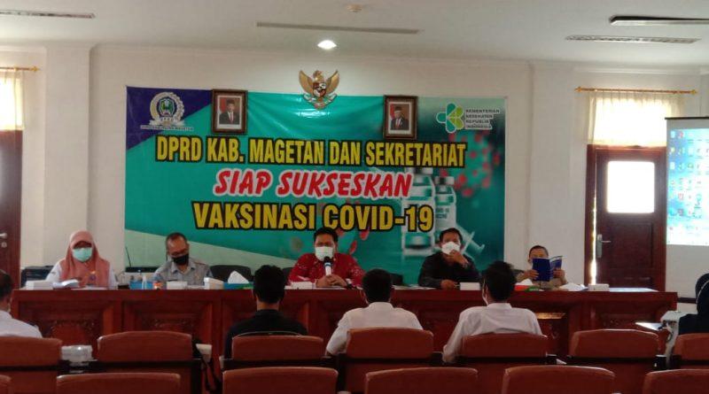 DPRD Magetan, Audensi Dengan Keluarga Almarhum Sutrisno