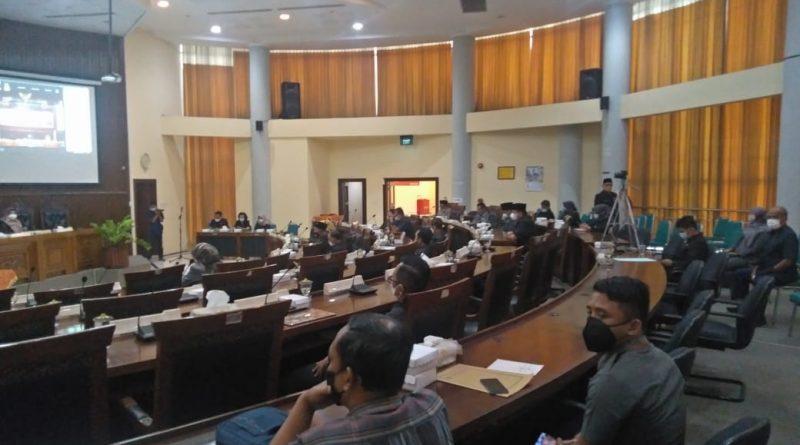 Paripurna DPRD Magetan, Pengambilan Keputusan Raperda Pertanggungjawaban Pelaksanan APBD TA 2020