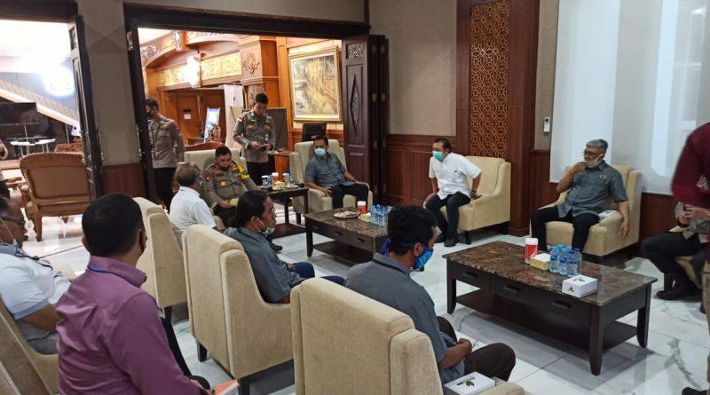 KAPOLDA Jatim AUDENSI Bersama PWI Jatim Tentang Kampung TANGGUH Semeru