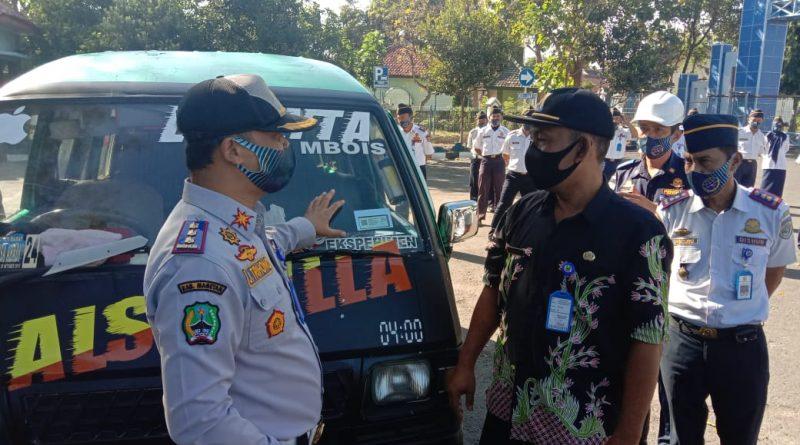 Launching Bukti Lulus Uji Elektronik (BLUE) dan SMS Gateway DisHub Kabupaten Magetan