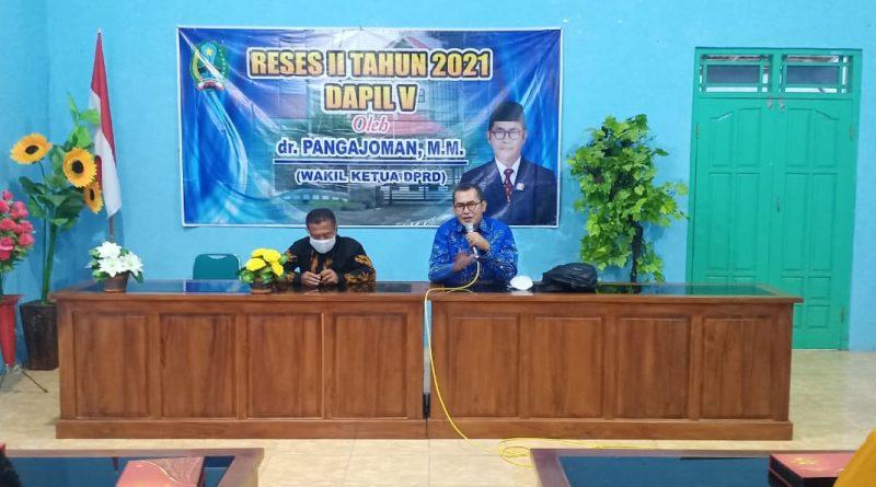 Reses Wakil Ketua DPRD Magetan, dr. Pangajoman MM Siap Perjuangkan Aspirasi Warga