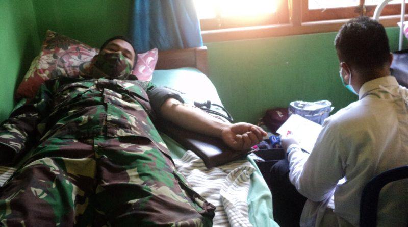 TMMD, Gelar Donor Darah Bukti Kepedulian untuk Kemanusiaan